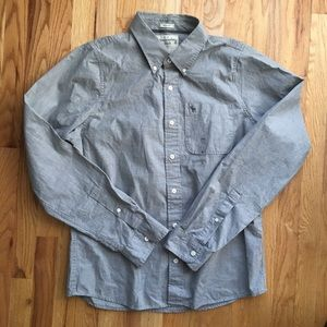 Abercrombie and Fitch muscle button up shirt